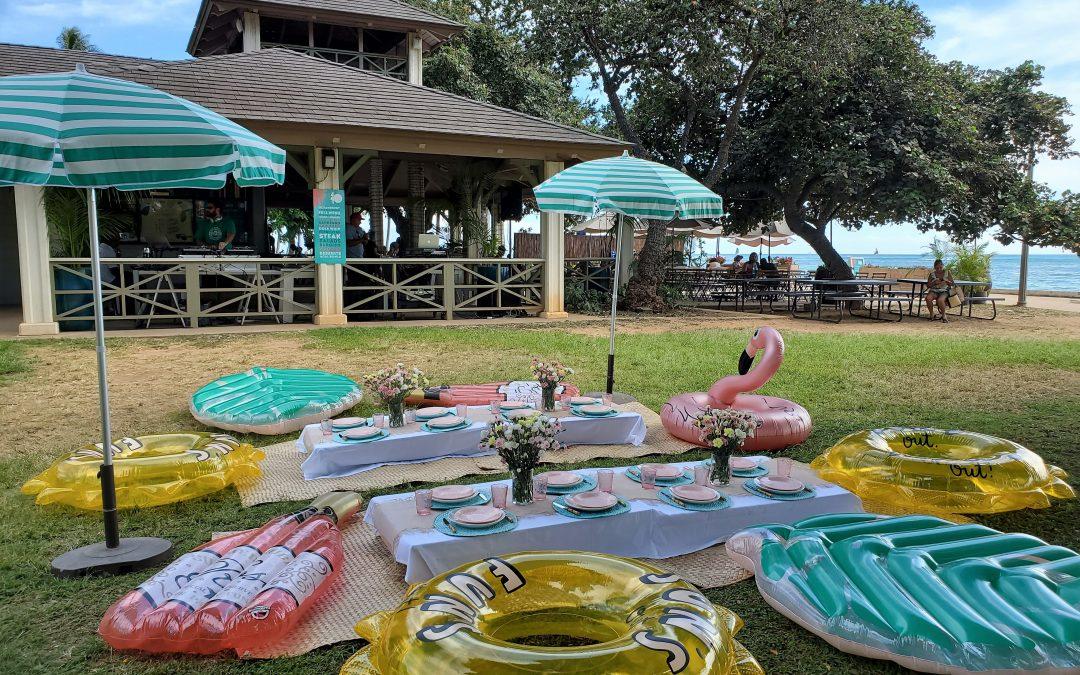 Sans Souci Beach Club Birthday // Barefoot Beach Cafe